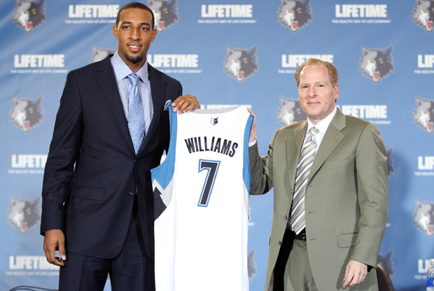 Does trading Derrick Williams erase the negative stigma of the pick?